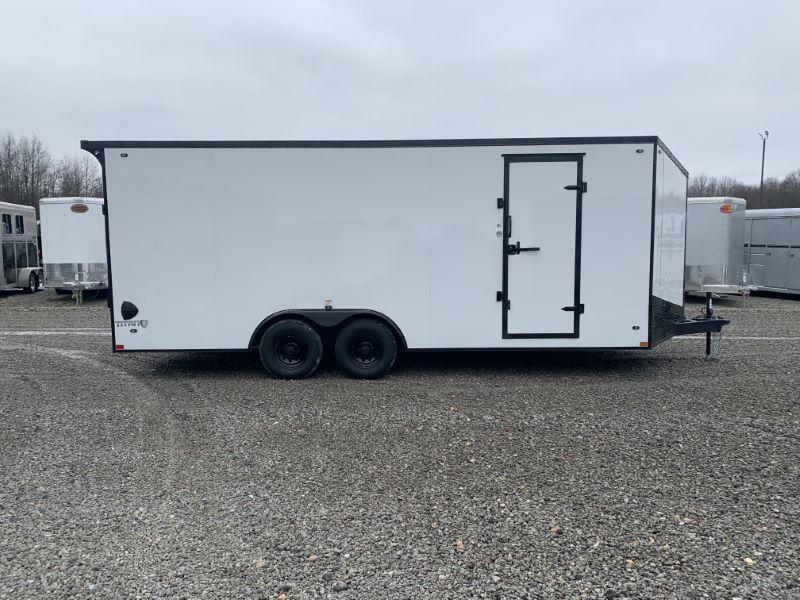 2020 8.5 X 20 STEALTH BUMPER PULL ENCLOSED TRAILER