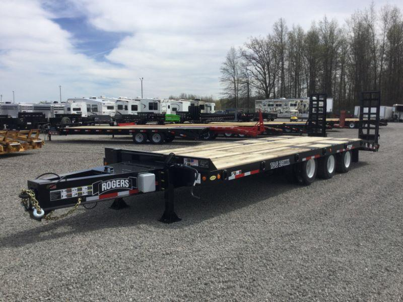 2019 8.5X30 ROGERS TAG HITCH EQUIPMENT TRAILER
