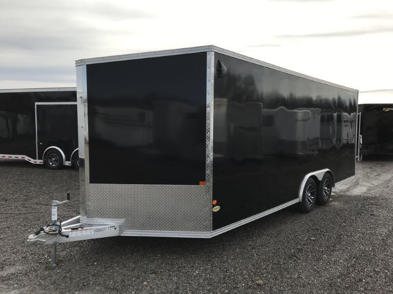 2020 8.5 X 20 ALCOM STEALTH BUMPER PULL ENCLOSED CAR TRAILER