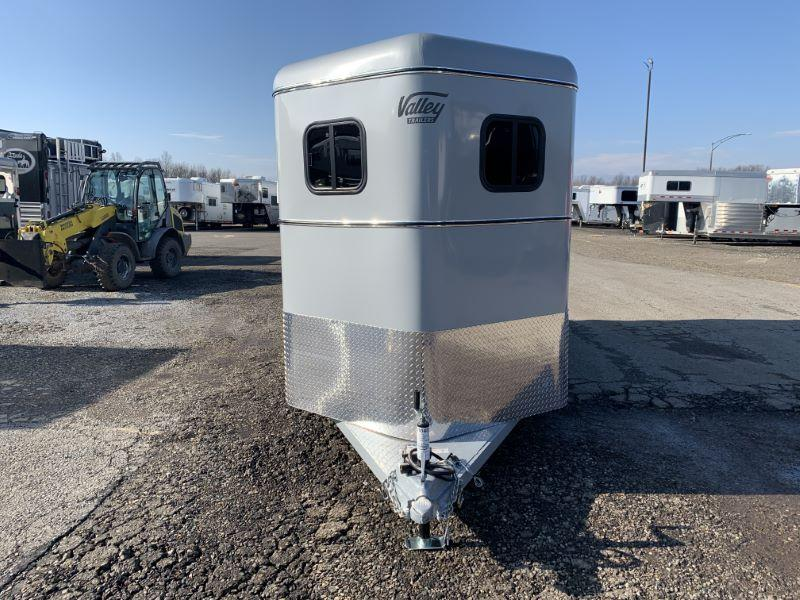 2020 VALLEY BUMPER PULL 2 HORSE STRAIGHT LOAD HORSE TRAILER