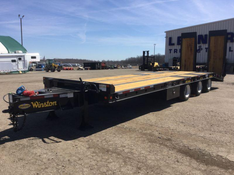 2019 8.5X30 WINSTON TAG HITCH EQUIPMENT TRAILER