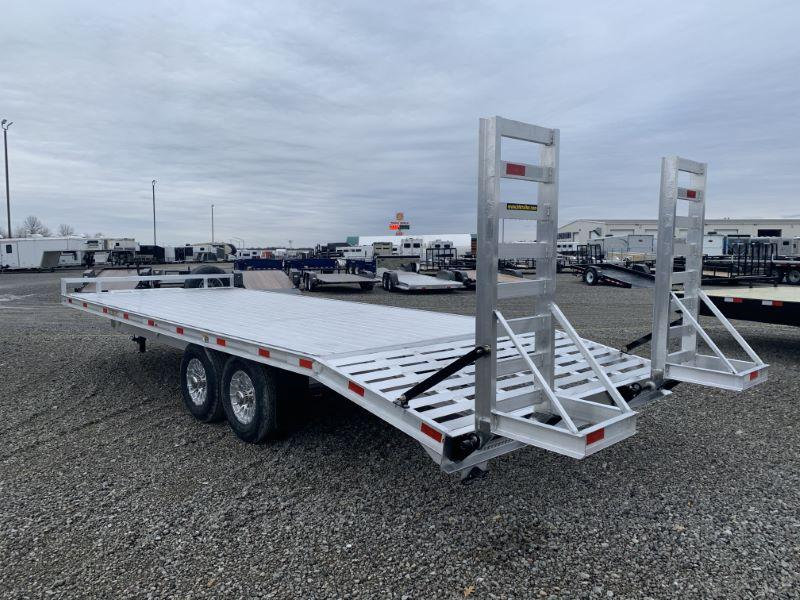 2020 8.5 X 24 H&H DECK OVER TAG EQUIPMENT TRAILER