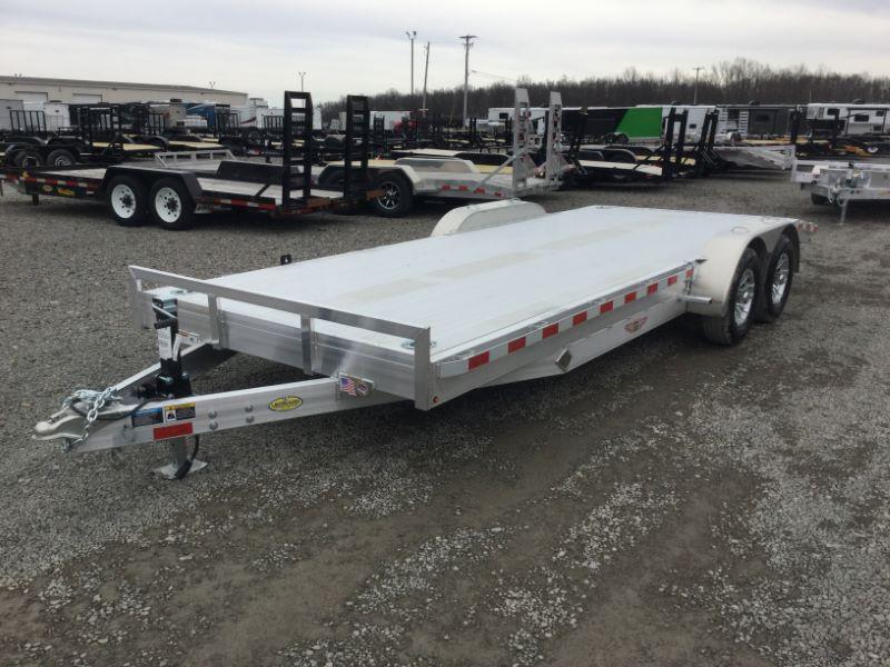 2019 7X20 H&H TAG HITCH EQUIPMENT TRAILER