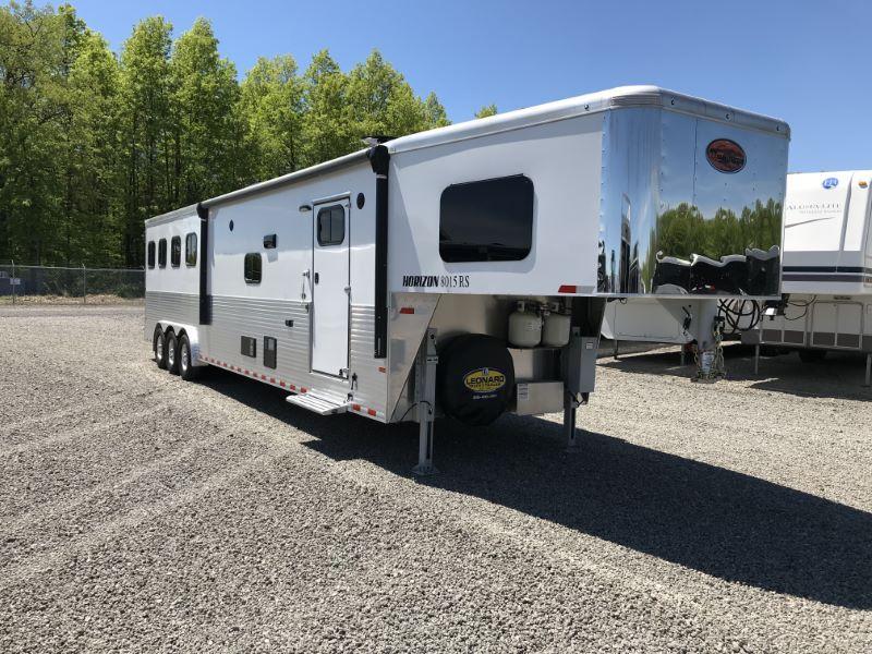 2019 4 HORSE SUNDOWNER GOOSENECK LIVING QUARTERS HORSE TRAILER