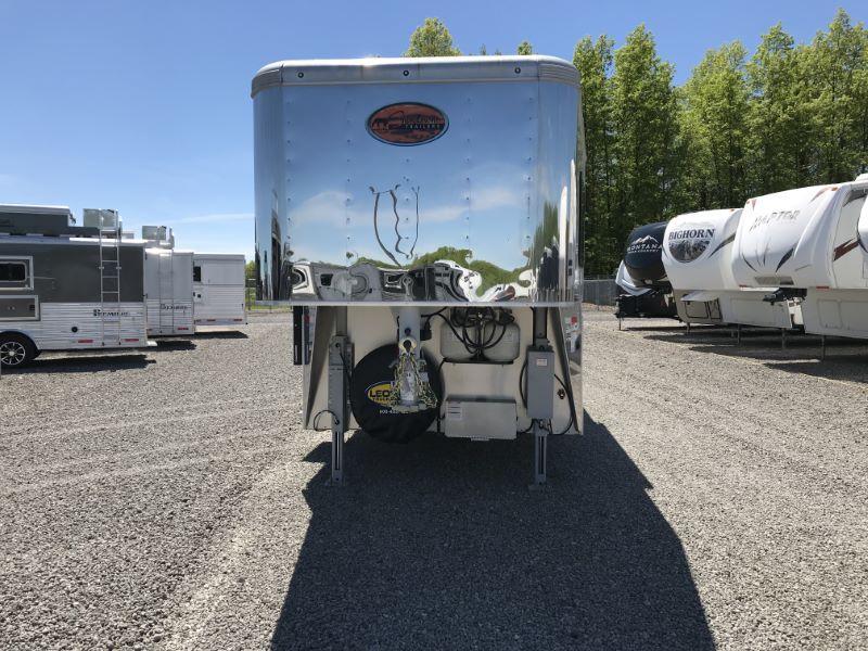 2019 Sundowner Trailers RS8415SL Horse Trailer