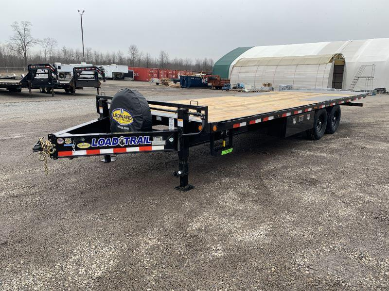 2020 8.5 X 24 LOAD TRAIL BUMPER PULL EQUIPMENT TRAILER