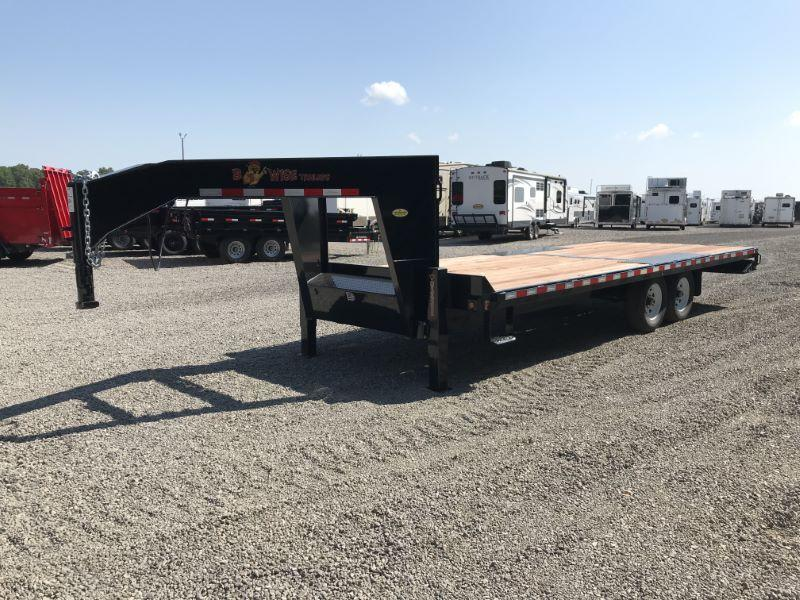 2020 8.5X22 BWISE GOOSENECK EQUIPMENT TRAILER