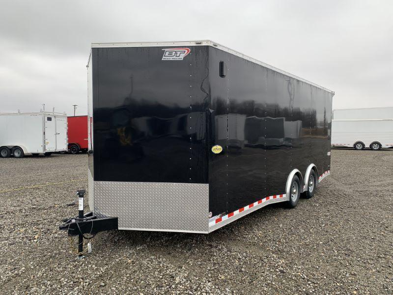 2020 8.5X20 BRAVO BUMPER PULL ENCLOSED CAR TRAILER