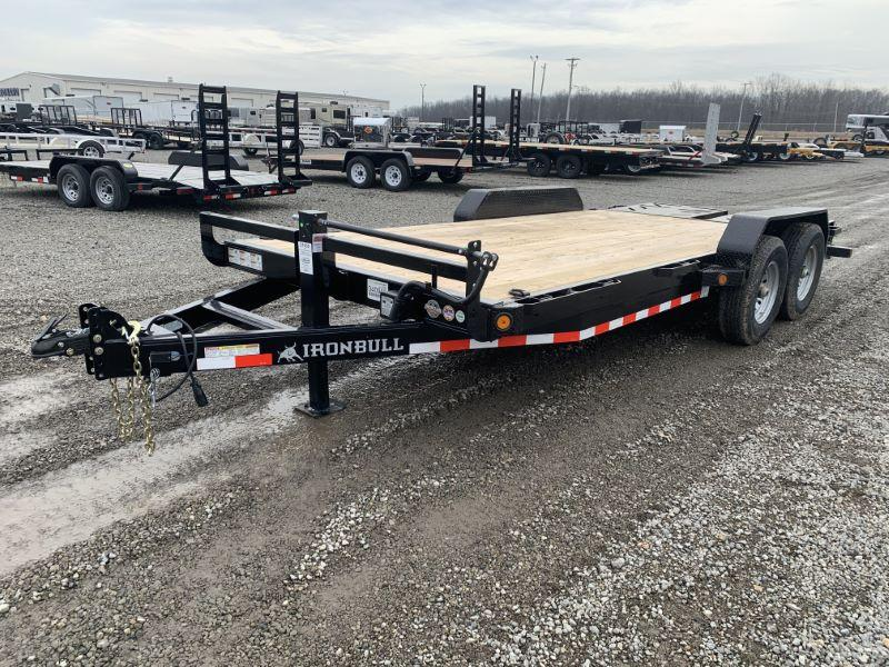 2020 7 X 18 IRON BULL BUMPER PULL EQUIPMENT TRAILER