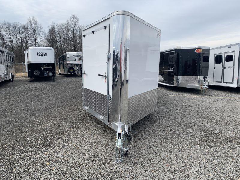 2020 7X16 BRAVO BUMPER PULL ENCLOSED ATV/SNOWMOBILE TRAILER