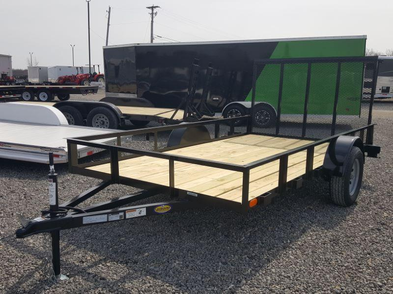 2021 6 X 12 TRAILER MANUFACTURES OF TOLEDO BUMPER PULL UTILITY TRAILER