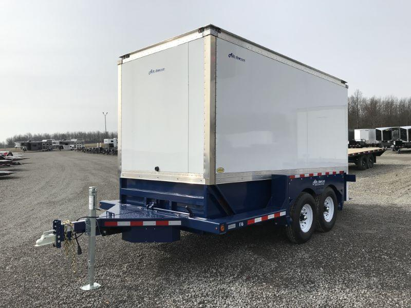 2020 16' AIR TOW BUMPER PULL ENCLOSED TRAILER