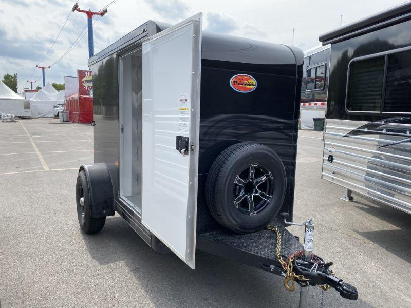 2020 5X8 SUNDOWNER BUMPER PULL ENCLOSED CARGO TRAILER