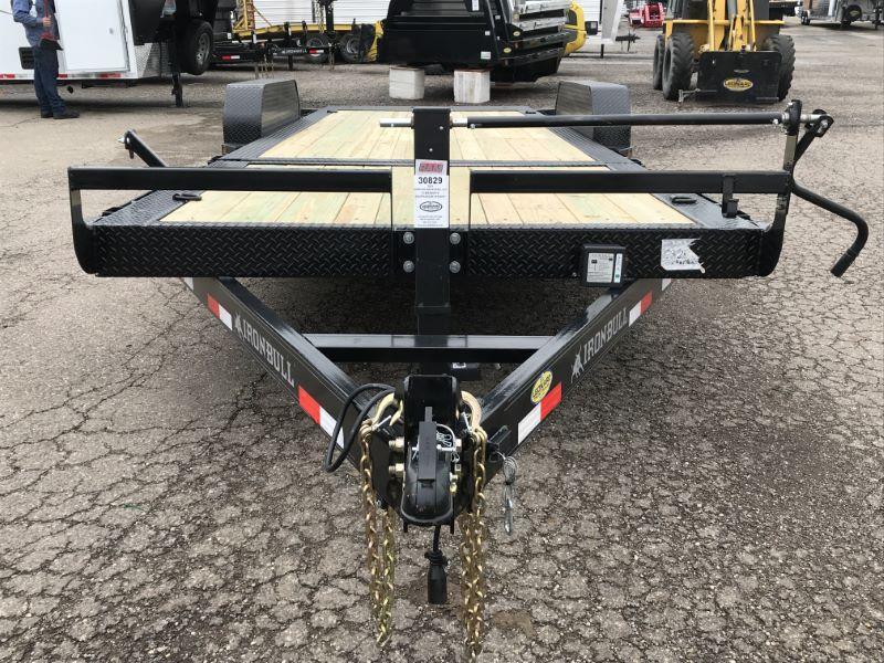2019 7X20 NORSTAR BUMPER PULL EQUIPMENT TRAILER