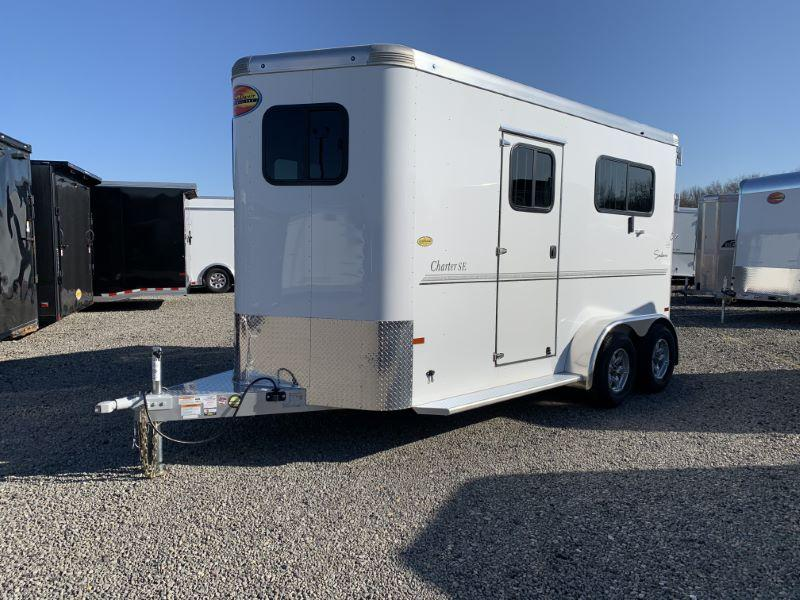 2021 2 HORSE SUNDOWNER BUMPER PULL W/DRESS HORSE TRAILER