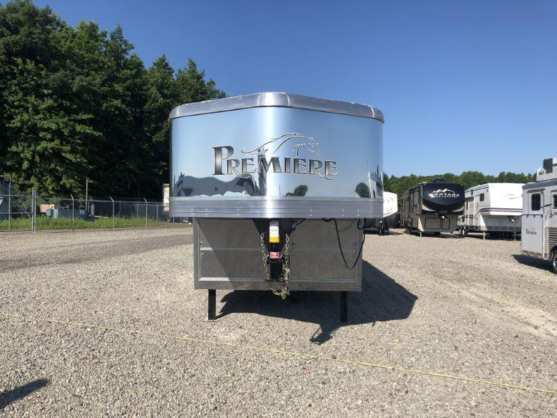 2020 Bison Trailers 8417PRDS-SO Horse Trailer