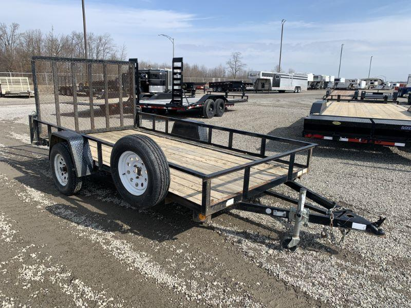 2014 6 X 12 QUALITY STEEL BUMPER PULL UTILITY LANDSCAPE TRAILER