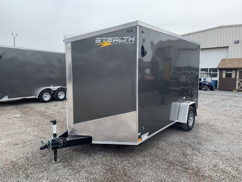 2020 7 X12 STEALTH BUMPER PULL ENCLOSED CARGO TRAILER