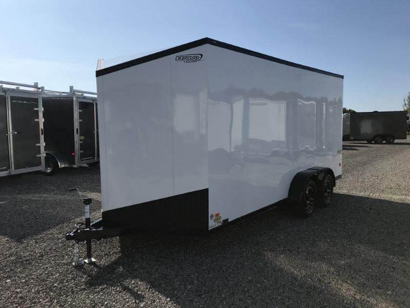 2020 7X16 BRAVO BUMPER PUILL ENCLOSED CARGO TRAILER