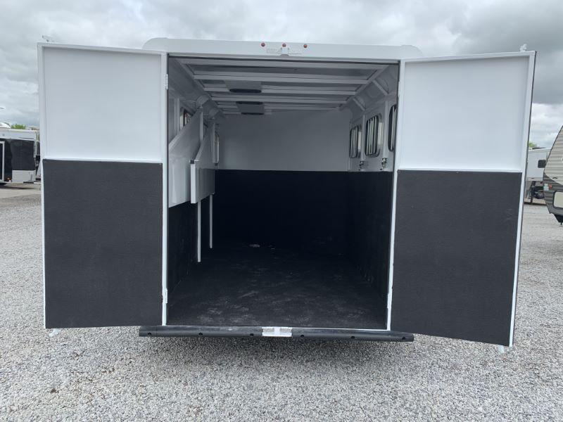 2020 3 HORSE TRAILS WEST BUMPER PULL HORSE TRAILER