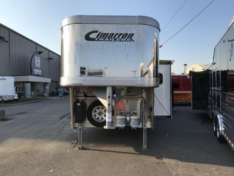 2020 Cimarron Trailers NS315LQ-SL Horse Trailer