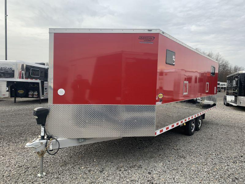2018 8.5X20 BRAVO BUMPER PULL ENCLOSED ATV/SNOWMOBILE TRAILER