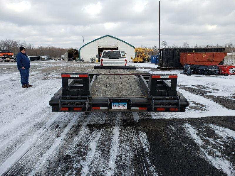 2019 8.5 X 25 CAM TAG DECK OVER EQUIPMENT TRAILER