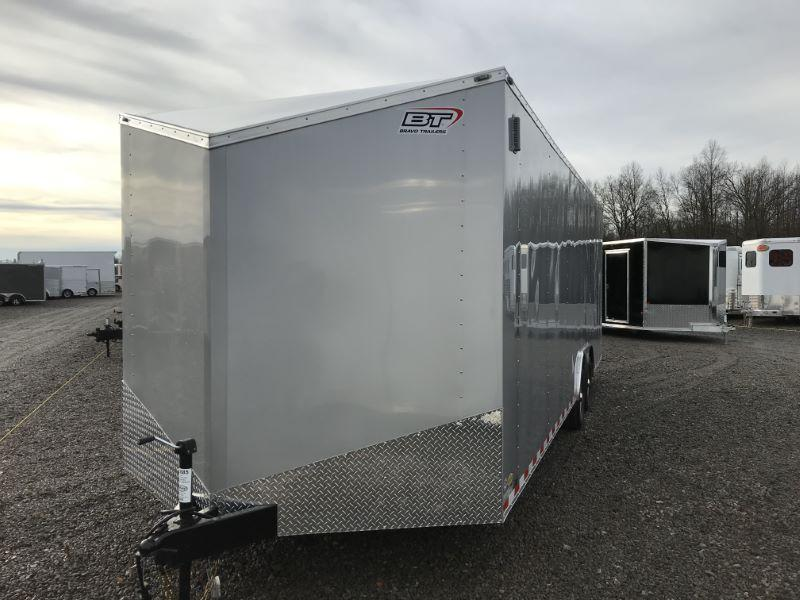 2020 8.5X24 BRAVO BUMPER PULL ENCLOSED CAR TRAILER