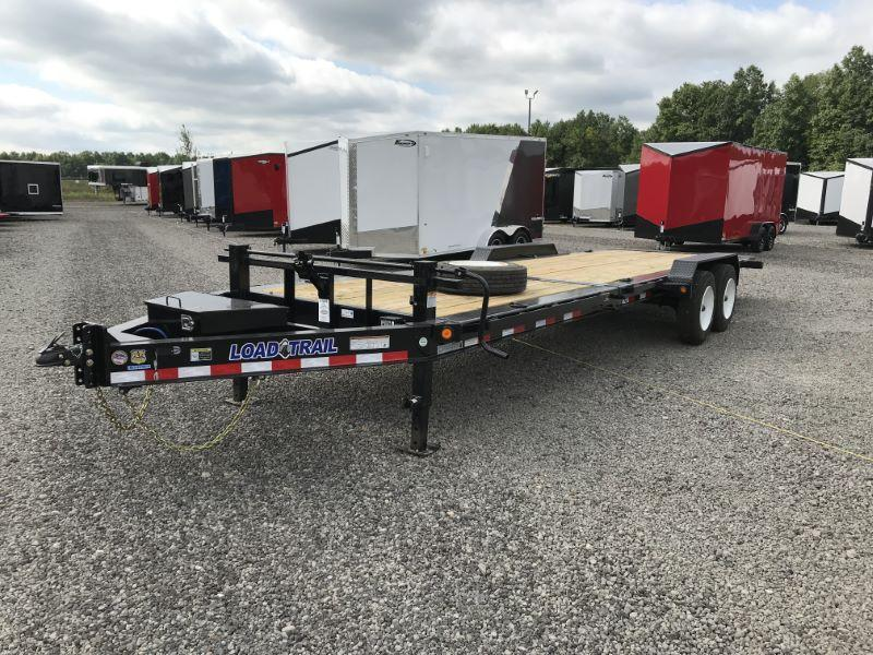 2020 7X24 LOAD TRAIL BUMPER PULL EQUIPMENT TRAILER