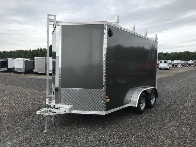 2019 7X12 STEALTH BUMPER PULL ENCLOSED CARGO TRAILER
