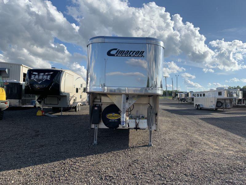 2019 Cimarron Trailers NS317LQSL-SS Horse Trailer