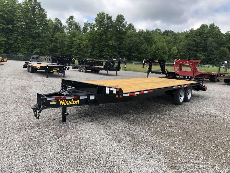 2020 8 X 25 WINSTON BUMPER PULL EQUIPMENT TRAILER