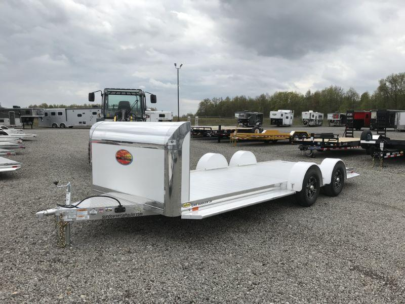 2021 19' SUNDOWNER BUMPER PULL OPEN CAR HAULER
