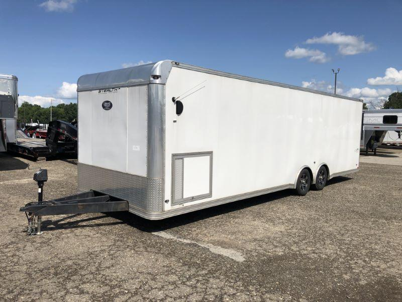2018 8.5X28 STEALTH BUMPER PULL ENCLOSED CARGO TRAILER