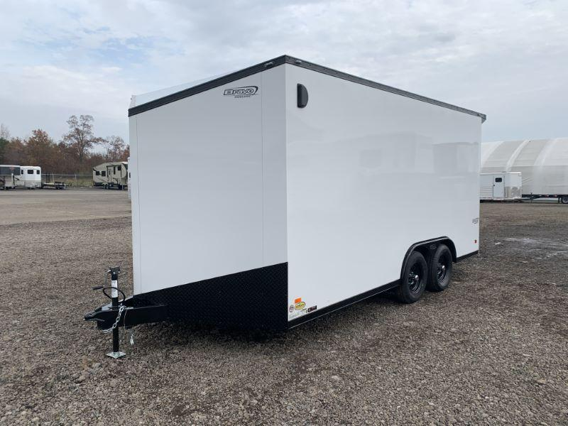 2020 8.5X16 BRAVO BUMPER PULL ENCLOSED CARGO TRAILER