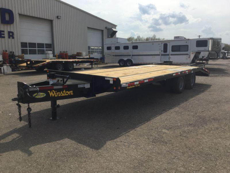 2019 8.5X25 WINSTON TAG HITCH EQUIPMENT TRAILER