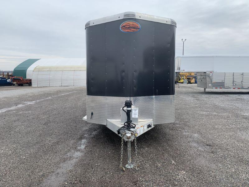 2018 3H SUNDOWNER BUMPER PULL SLANT W/DRESS HORSE TRAILER