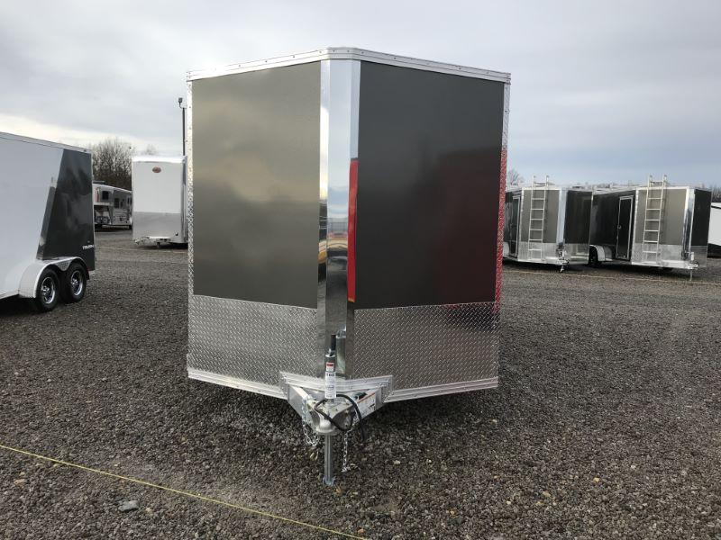 2020 7.5 X 14 ALCOM STEALTH BUMPER PULL ENCLOSED TRAILER