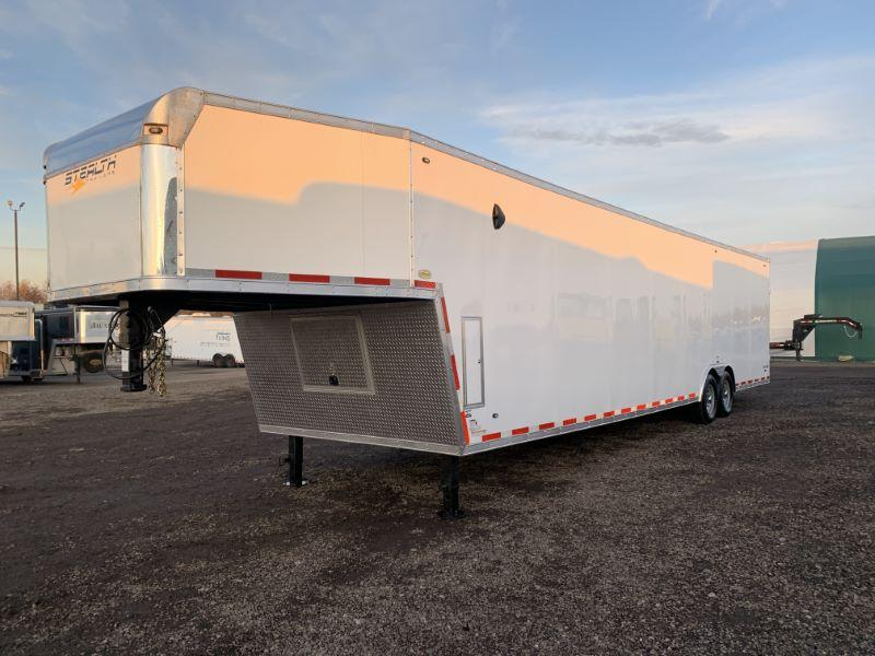2020 8.5X40 STEALTH GOOSENECK ENCLOSED CAR TRAILER