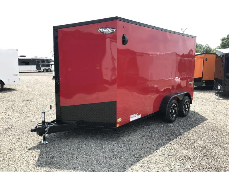 2020 7X14 FORMULA BUMPER PULL ENCLOSED CARGO TRAILER