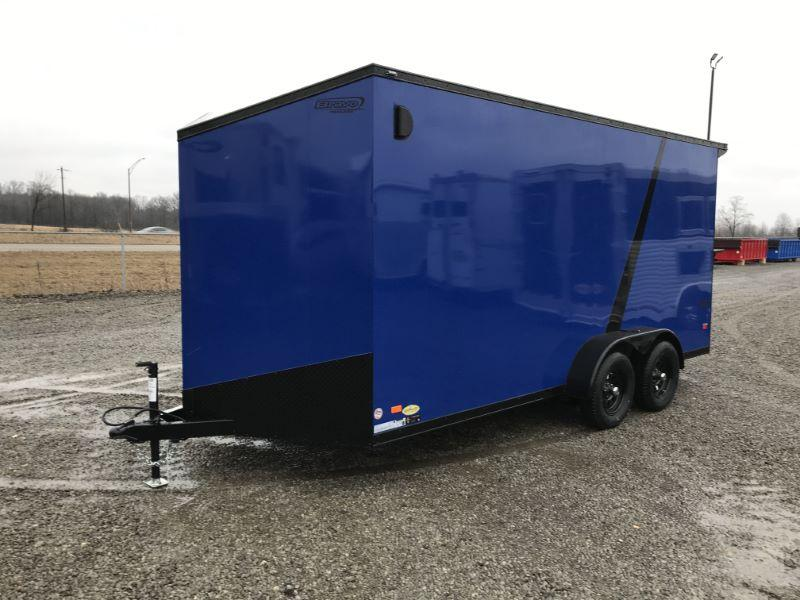 2020 7 x 16 BRAVO BUMPER PULL ENCLOSED CARGO TRAILER