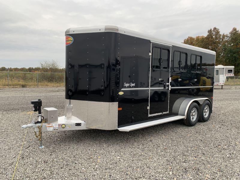 2020 3 HORSE SUNDOWNER BUMPER PULL W/DRESS HORSE TRAILER