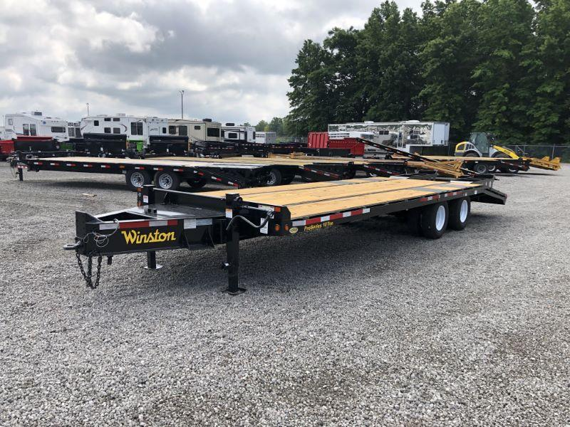 2020 8.5X28 WINSTON TAG HITCH EQUIPMENT TRAILER