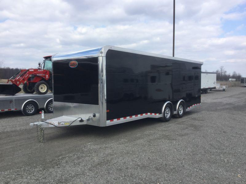 2019 8.5X24 SUNDOWNER BUMPER PULL ENCLOSED CAR TRAILER