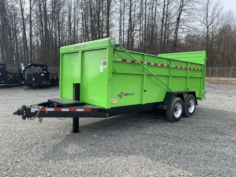 2020 BWISE TAG DUMP LOW PROFILE TRAILER