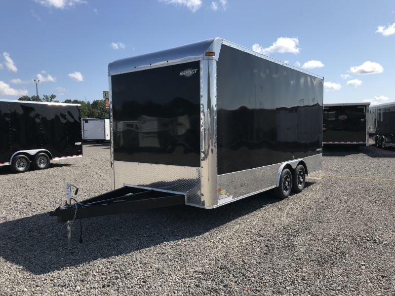 2020 8.5X18 FORMULA BUMPER PULL ENCLOSED CAR TRAILER