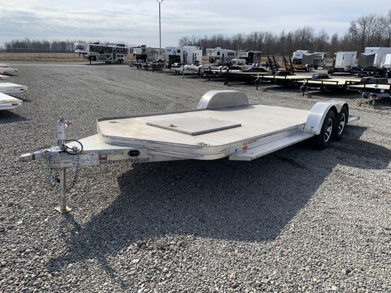 2018 21' SUNDOWNER BUMPER PULL CAR TRAILER