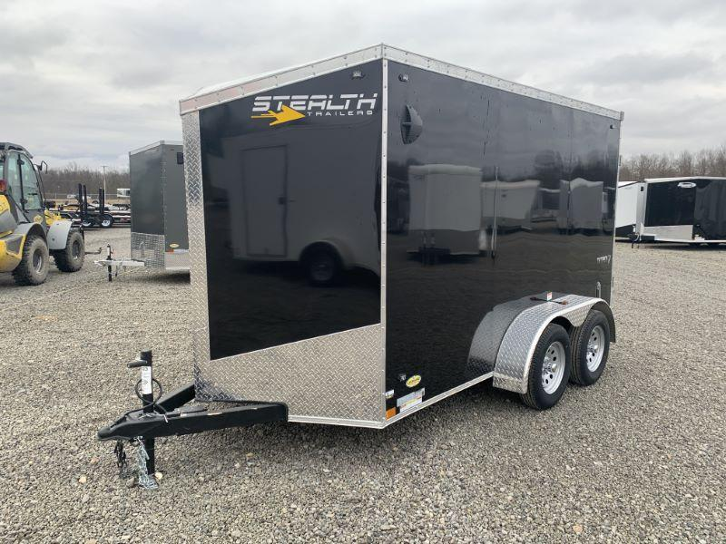2020 6 X 12 STEALTH BUMPER PULL ENCLOSED CARGO TRAILER