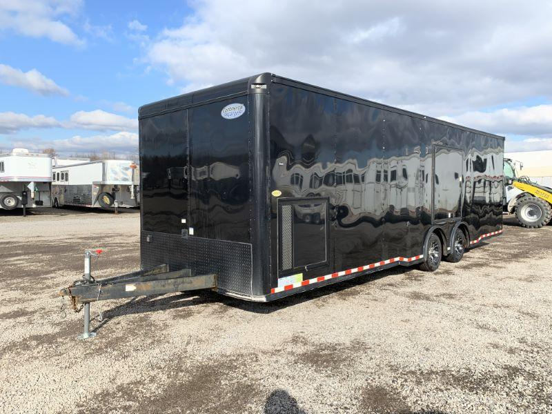 2018 8.5 X 28 FOREST RIVER BUMPER PULL ENCLOSED CARGO TRAILER