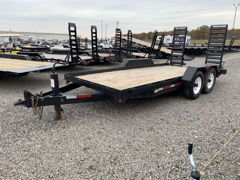 2008 7X16 LIBERAL BUMPER PULL EQUIPMENT TRAILER